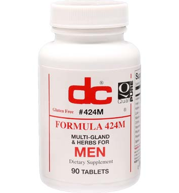 FORMULA 424M MULTI GLAND AND HERBS FOR MEN