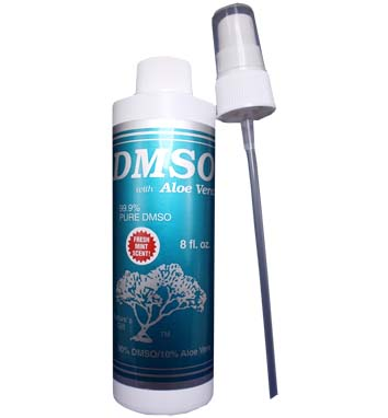 DMSO Liquid Spray with Aloe Vera 99.9% Pure DMSO