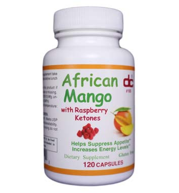 AFRICAN MANGO with Raspberry Ketones