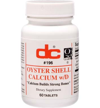OYSTER SHELL CALCIUM w/D
