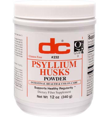 PSYLLIUM HUSKS POWDER Intestinal Health and Colon Care
