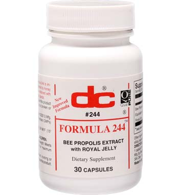 BEE PROPOLIS 500 MG w/Royal Jelly FORMULA 244
