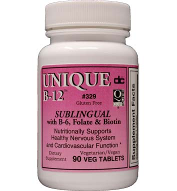 Vitamin B-12 Sublingual  Vegetarian Formula