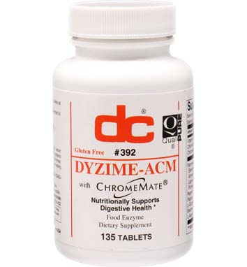 DYZIME -ACM Pancreatin, Papain, Pepsin, Betaine HCl, Glutamic Acid and L-Aspartic Acid