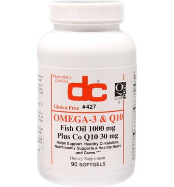 OMEGA-3 Fish Oil 1000 MG Coenzyme Q10 30 MG