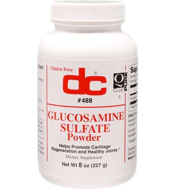GLUCOSAMINE SULFATE Powder 1,550 mg Per 1/2 Teaspoon