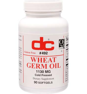 WHEAT GERM OIL COLD PRESSED 1,130 MG