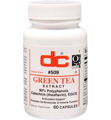 GREEN TEA EXTRACT 170 MG 90% POLYPHENOLS with Red Clover