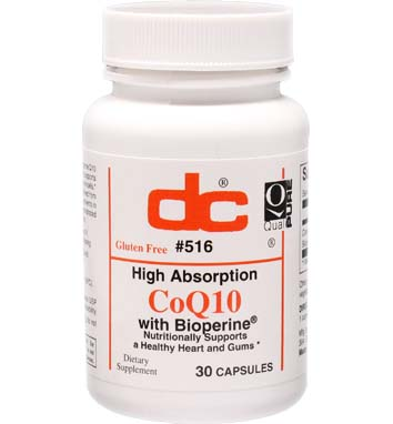 Coenzyme Q10 200 mg High Absorption Co Q10 with Bioperine