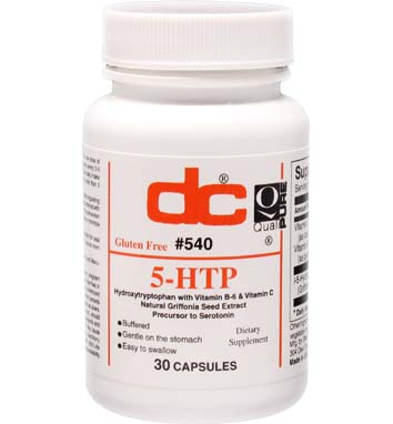 5-HTP 50 MG Hydroxytryptophan with Vitamin B-6 and Vitamin C