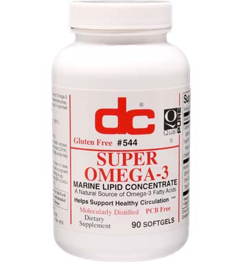 SUPER OMEGA-3 FISH OIL 1000 MG A Natural Source of Omega-3 300 EPA/200 DHA