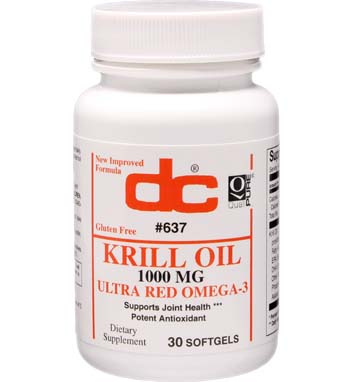 KRILL OIL 1000 MG PhosphOmega with Omega-3 and Astaxanthin