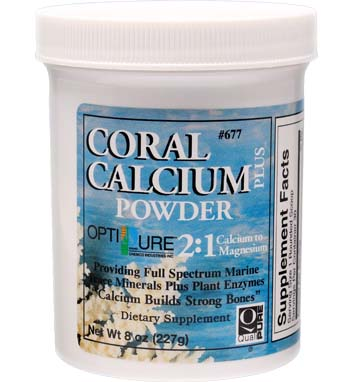 CORAL CALCIUM PLUS POWDER 2:1 Calcium to Magnesium w/Trace Minerals and Plant Enzymes