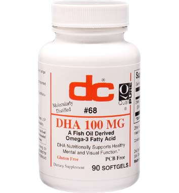 D H A 100 MG Omega-3 Fatty Acid