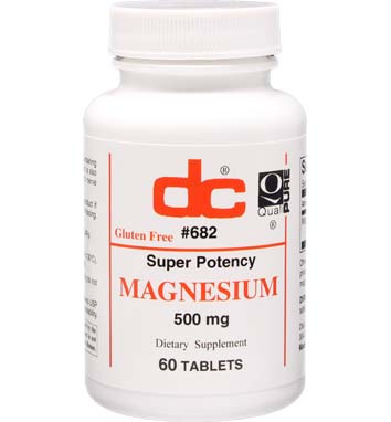 MAGNESIUM Super Potency 500 MG