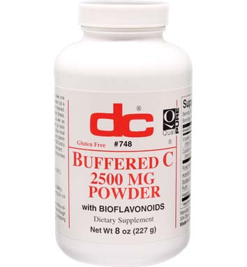 BUFFERED C POWDER 2,500 MG Per Teaspoon