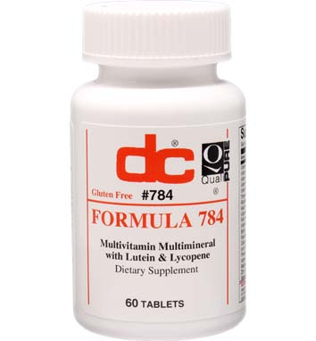 FORMULA 784 Multivitamin Multimineral with Lutein & Lycopene