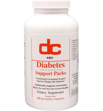 Diabetes Advanced Support Packs