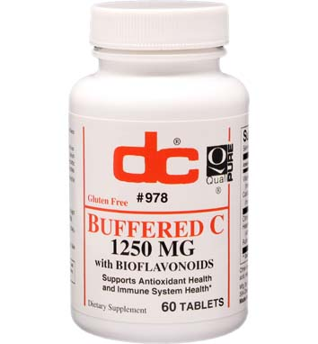 BUFFERED C 1,250 MG w/BIOFLAVONOIDS